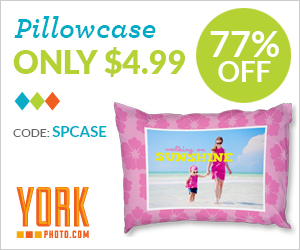 Custom Photo Pillowcase – Just $4.99 – Save $17 On Each!
