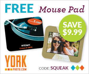 Free Photo Mousepad – Save $9.99!