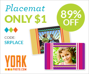 Custom Placemat – Only $1 each – Save up to $15.98!