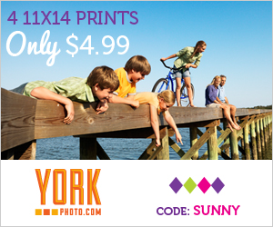 Four 11X14 Photo Prints/Posters – Only $4.99 – Save $26.97!
