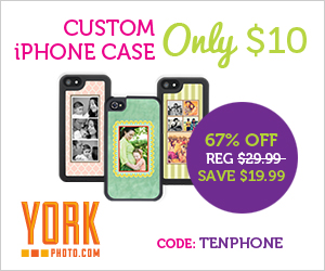 Custom Photo iPhone Cases - Just $10 - Save $19.99!
