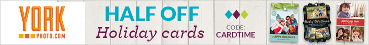Half Off Holiday Cards - Maximum Discount $250!