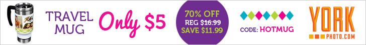 70% Off Custom Photo Travel Mug – Now Just $5!
