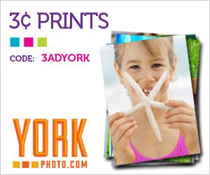 3¢ Photo Prints + 40 Free