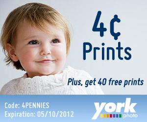 40 Free Prints & 4 Cent Prints