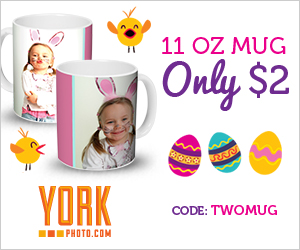 11 OZ. Custom Mug - Only $2.00 - Save $7.99!