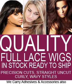 Quality Full Lace Wigs custom Made or Buy in Stock, Ready To Ship!