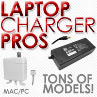 hundreds of laptop chargers at laptop charger                 pros!