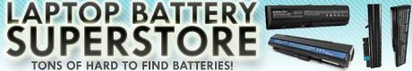 laptop batteries galore!