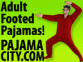 footed pajamas for adults only from pajamacity.com
