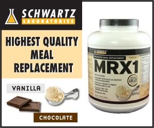 MRX1 Meal Replacement from Schwartz Labs