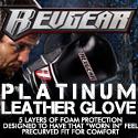 RevGear.com PLATINUM LEATHER GLOVES