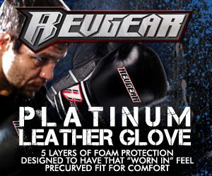 RevGear.com PLATINUM boxing LEATHER GLOVES