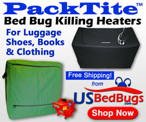 PackTite Bed Bug Killing Heaters
