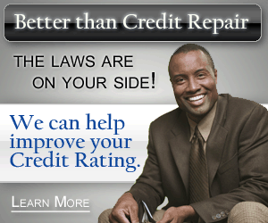 He can help improve your credit rating. Click here.