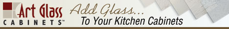 Add Glass to your Kitchen Cabinets