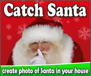 catch santa - create a photo