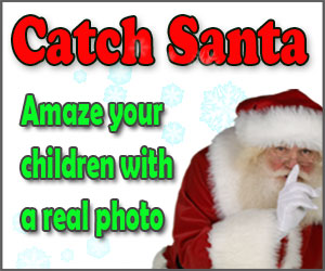 catch santa - create a photo