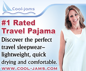 Cool-jam The Perfect Travel Sleepwear