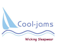 Cool-jams Wicking Sleepwear For Night Sweats , Hot Flashes and Travel
