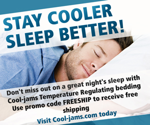 Stay Cooler Sleep Better
