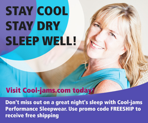 Stay Cool, Stay Dry, Sleep Well