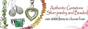 gemstone silver jewelry, gemstone beaded jewelry