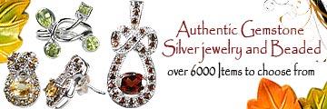 gemstone silver jewelry, gemstone beaded jewelry