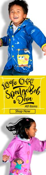 Get 10% off all Kidorable SpongeBob & Dora items.