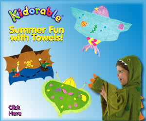 Kidorable Summer Towels