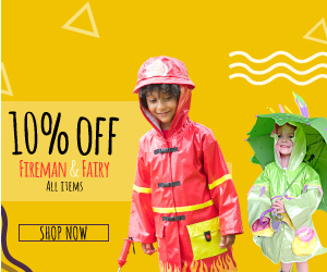 Get 10% off all Kidorable Fireman & Fairy items