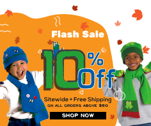 Get 10% Off Everything + Free Shipping on all orders above $50