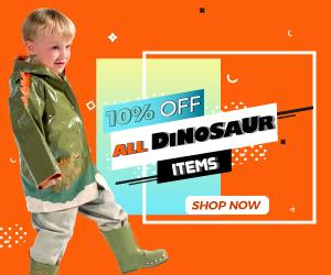 Get 10% Off All Dinosaur Items