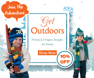 Get 10% off all Kidorable Pirate & Dragon Knight Items