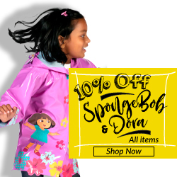Get 10% off all Kidorable SpongeBob & Dora items.