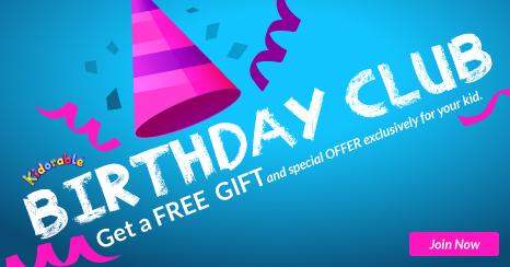 Kidorable Birthday Club