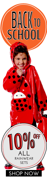 Get 10% Off all Kidorable Rainwear sets