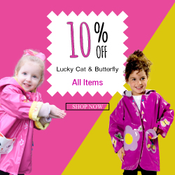 Get 10% Off All Lucky Cat & Butterfly Items