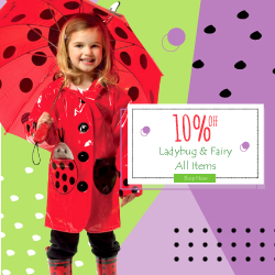 Get 10% Off All Ladybug & Fairy Items