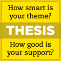How smart is your Theme?  How good is your support? Check out ThesisTheme for WordPress
