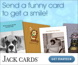 Send a funny card to get a smile!