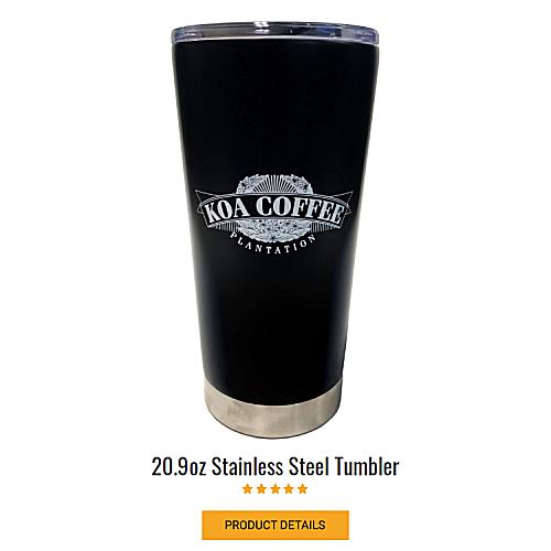 Koa Stainless Travel Mug