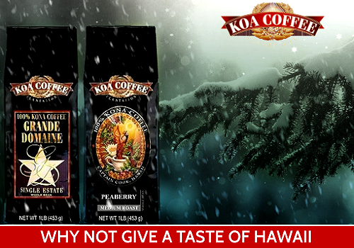 Gifts of Aloha from Koa Coffee