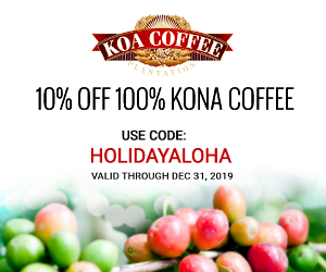 Kona Coffee Coupon
