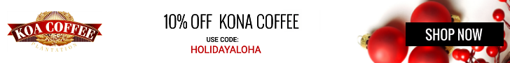 Save on Kona Coffee
