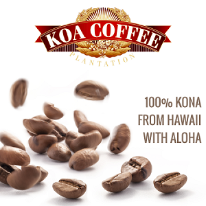 100% Kona Coffee banner