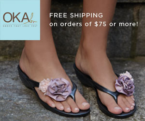OKA b. Spring Flip Flops, Sandals and Slides!