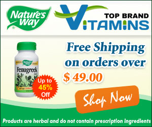 Up To 45% Off on Natures Way Products and Get Free Shipping Over $49