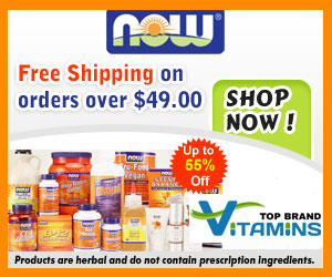Get Up To 55% Off on Now Foods Products and Free Shipping on Orders Over $49