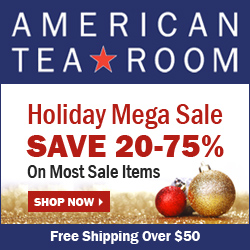 AmericanTeaRoom.com Holiday Mega Sale: 20-75% Off Most Items + Free Shipping Over $50